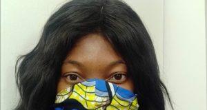 fabric made face masks