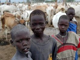 Dinka Tribe Of Sudan