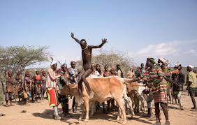 Hamar Tribe Bull Jumping Ritual